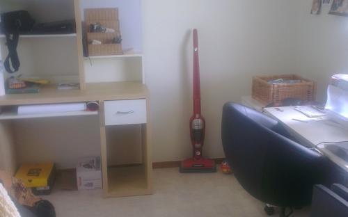 Rummet, kan tömmas på möbler