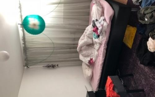 Studentstökigt sovrum