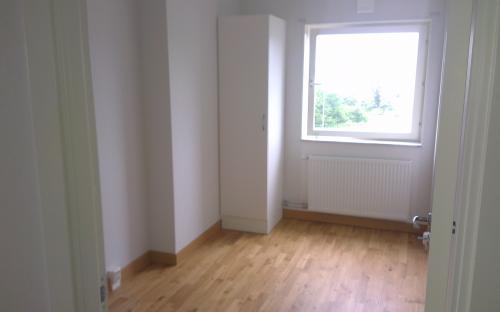 Rummet som hyrs ut