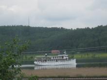Båt på Göta Älv